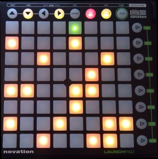 Lauflicht Launchpad demo version